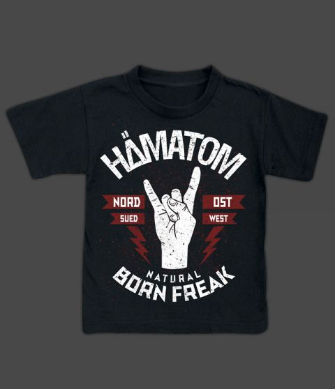 'NATURAL BORN FREAK' - KIDS SHIRT