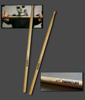 SUED SIGNATURE DRUMSTICKS